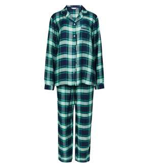 Ex M-S Ladies PJ Set Navy Mix  - £5.95