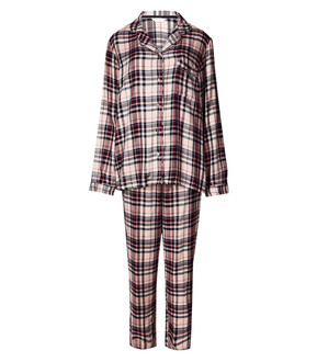 Ex M-S Ladies PJ Set Pink Mix  - £5.95