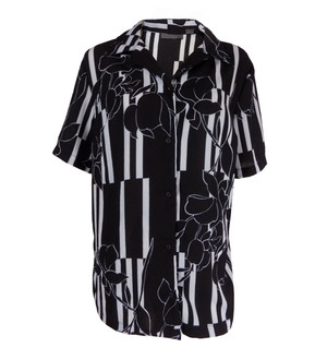 Ex Major High Street Ladies Short Sleeve Button Up Blouse - £3.50