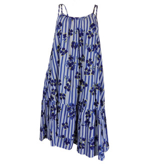 Ex M-S Ladies Navy Summer Dress - £4.00