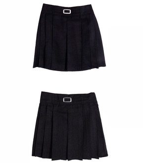 Ex M-S Girls Adjustable Waist School Skirts Assorted - £2.00
