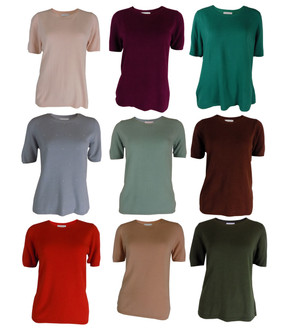 Ex M-S Ladies Short Sleeve Jumpers - £3.50