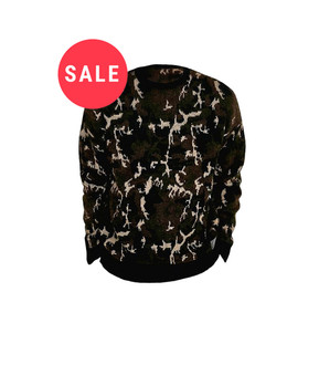 Ex Major High Street Camo Knitted Jumper - WAS £4.50   NOW £2.50