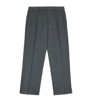 Ex M-S Boys Regular Leg Grey School Trousers - £2.50
