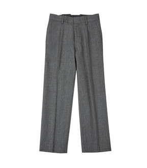 Ex M-S Boys Wool Blend Pleat Front Grey School Trousers - £2.50