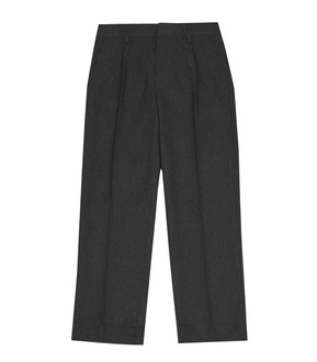 Ex M-S Boys Additional Lengths Regular Leg Grey School Trousers - £2.50