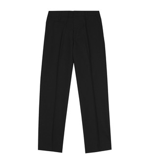 Ex M-S Boys Slim Leg Long Black School Trousers - £2.50