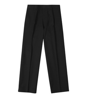 Ex M-S Boys Regular Leg Extra Plus Fit Black School Trousers - £2.50