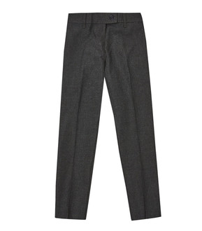 Ex M-S Girls Slim Leg Grey School Trousers  - £2.50