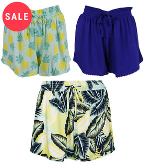 Ex M-S Ladies Beach Shorts - WAS £1.95   NOW £1.25