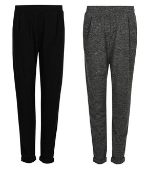 Ex M-S Ladies Jersey Tapered Leg Peg Trousers - £3.95