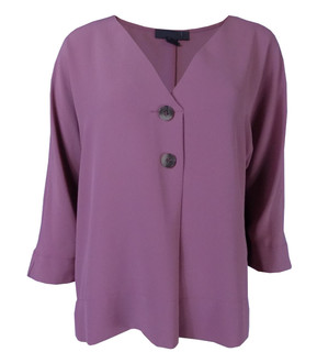 Ex Major High Street Ladies 3/4 Sleeve Button Blouse - WAS £3.95   NOW £2.50