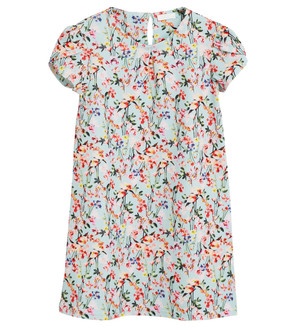 Ex N-xt Girls Ponte Floral Print Dress  -  £3.50