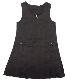 Ex Major Highstreet Girls Pinafore School Dress   - £2.00