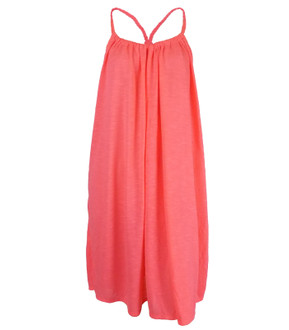 Ex Major High Street Ladies Coral Summer Beach Dress - £2.50