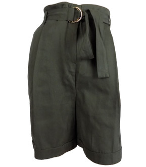 Ex M-S Peruna Ladies Khaki Shorts - £4.00