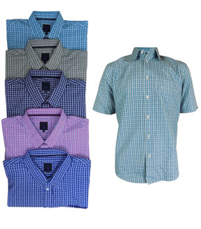 Ex Major High Street Men's Short Sleeve Shirts - £4.50