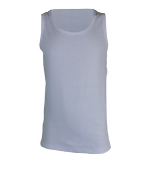 Ex Major High Street Mens Cotton Sleeveless 3 Pack Vests - £3.50