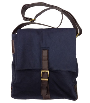 Mens Navy Canvas Bag - £3.00
