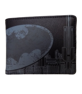 Men's Batman Character Black Wallet  - £3.50