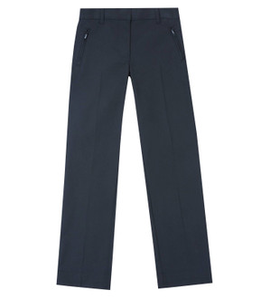 Ex M-S Girls Ultimate Slim Leg Navy School Trousers  - £2.50