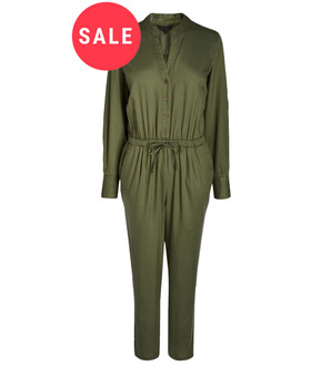 Ex N-xt Ladies Khaki Jumpsuit  - WAS £4.95   NOW £3.00