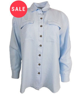 Ex M-ss S-lfridge Ladies L/S Blouse- WAS £3.50   NOW £2.50
