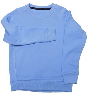 Ex M-S Unisex Pale Blue School Sweatshirt - £2.50