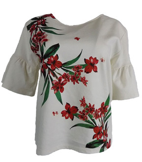 Ex M-S Ladies Flared Sleeve Top - £3.50