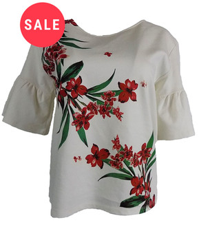 Ex M-S Ladies Flared Sleeve Top - WAS £3.50   NOW £2.50
