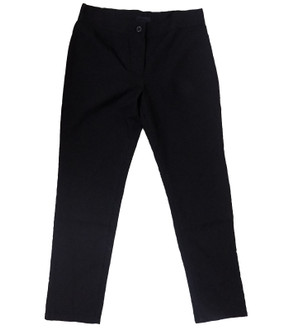 Ex D-benhams Girls Black School Trousers  - £2.00