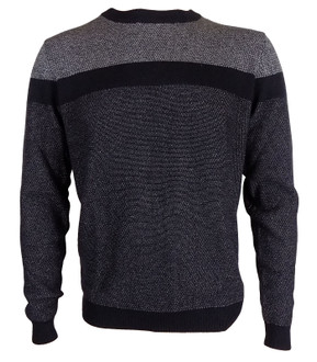 Ex N-xt Mens Textured Crew Neck Jumper - £4.95