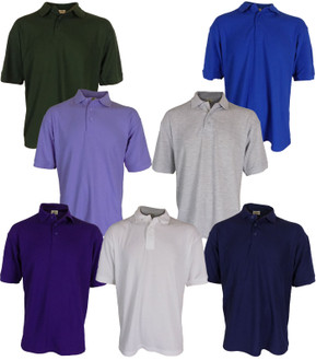 Men's Premium Plain Polo T-shirt 220GSM - £2.50