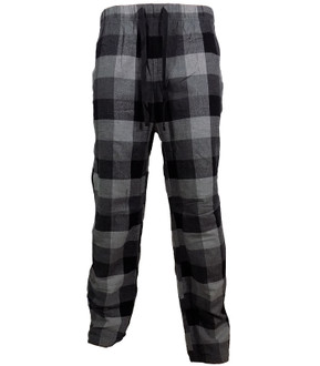 Mens Grey Check PJ Bottom - £2.50