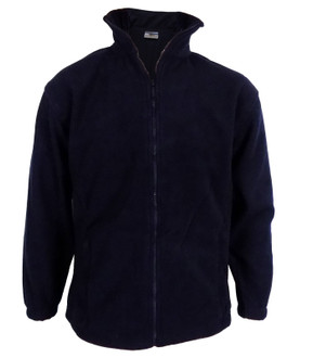 High Quality 400gsm Zip Up Fleece Navy - £4.50