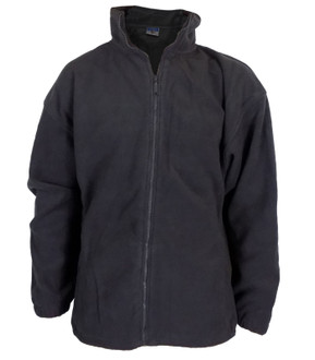 High Quality 400gsm Zip Up Fleece Charcoal - £4.50