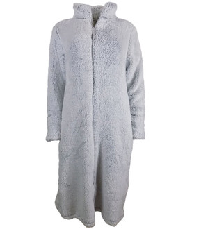 Ex M-S Ladies Fleece Zip Up Dressing Gown  - £7.50