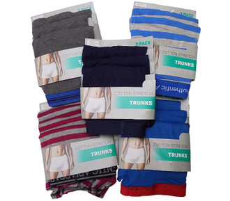 Ex Major Highstreet Mens 3 pack Trunks - £3.25