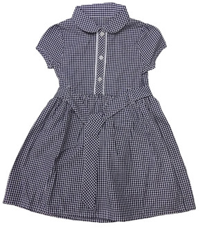 Ex Major Highstreet Girls Gingham Dress with Belt - £1.75