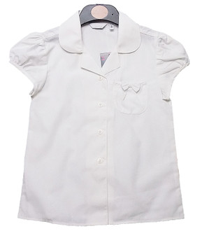 Ex B-S Girls Short Sleeve School Blouse - £1.40