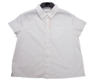 Ex B-S/Tammy Girl Short Sleeve School Shirt - £1.40