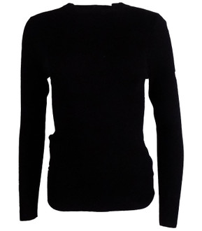 Ex M-S Long Sleeved Ribbed Jumper - £4.50