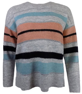 Ex O-sis Ladies Stripe Jumper - £4.95