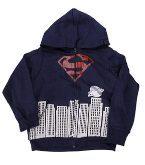 Boys Superman Sherpa Fleece Hoodie - £3.95