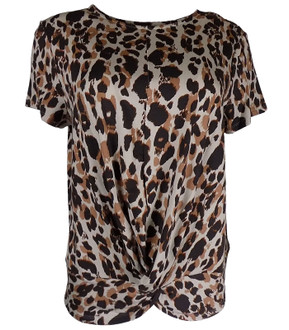 Ex N-xt Ladies S/S Animal Print Top - £3.50