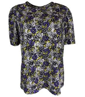 Ex N-xt Ladies S/S Floral Print Top - £2.00