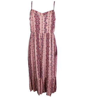 Ex M-S Ladies Floral Print Midi Slip Dress - £4.95