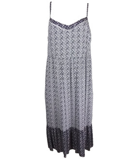 Ex M-S Ladies Geometric Print Midi Slip Dress - £4.95