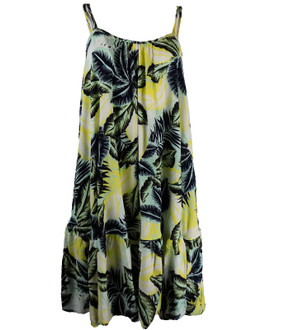 Ex M-S Ladies Palm Woven Summer Beach Dress - £4.00