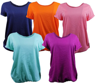Ex Major Highstreet Ladies Assorted S/S Tops - £2.00